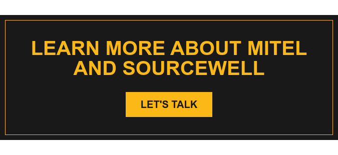 Learn More about Mitel and Sourcewell Let's Talk