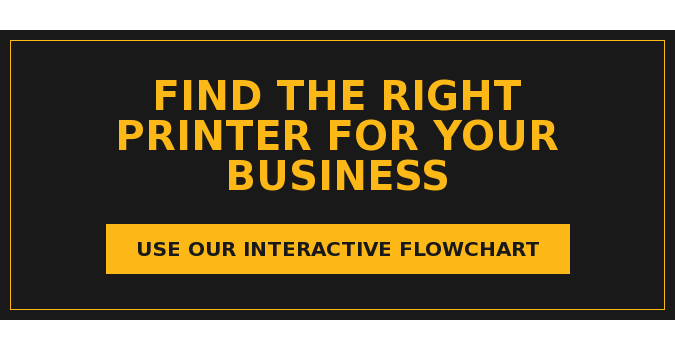 Find the Right Printer for Your Business Use Our Interactive Flowchart