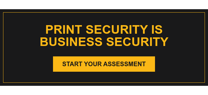 Print Security is Business Security Start Your Assessment