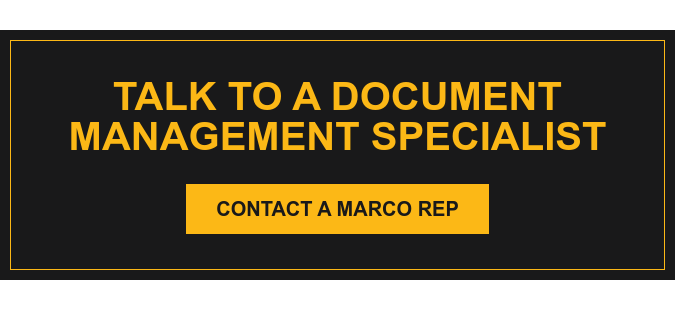Talk to a Document Management Specialist