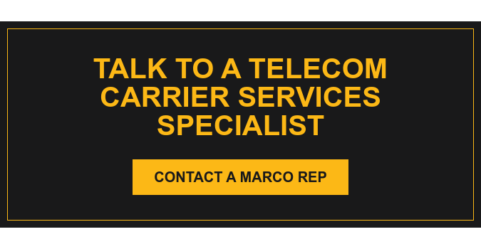Talk to a Marco Telecom Service Specialist