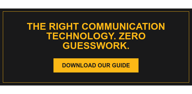 What Communication Technology is Right for Your Business? Use Our Interactive Flowchart