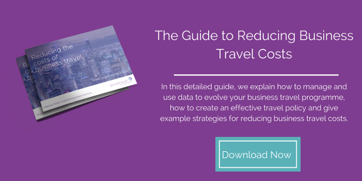 The Guide to Reducing Business Travel Costs
