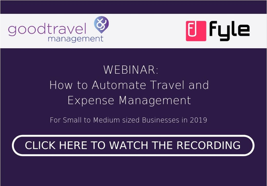 Good Travel Management - How to automate travel and expense management