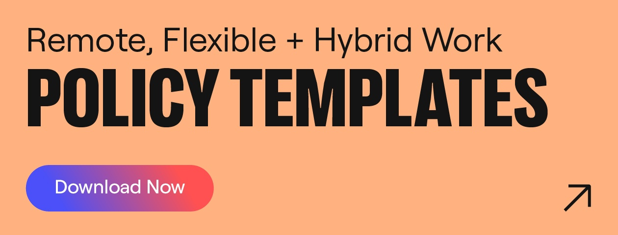 remote flexible and hybrid work policy templates download button