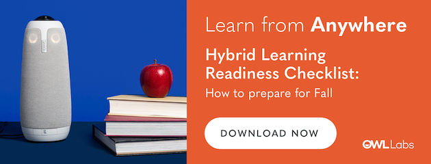 Learn From Anywhere: Hybrid Learning Readiness Checklist