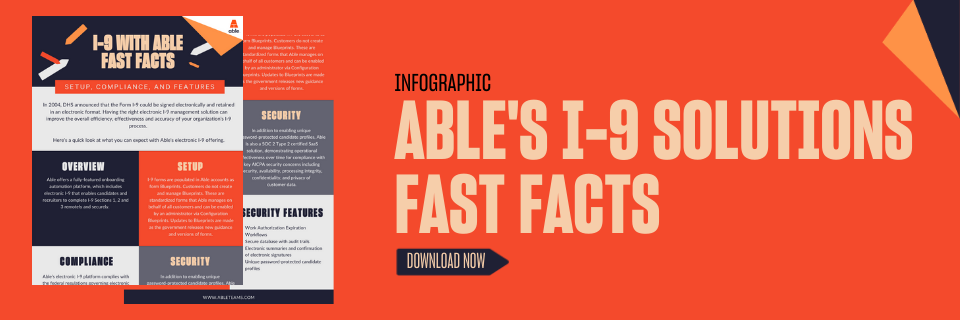 I-9 Solutions Fast Facts | Able