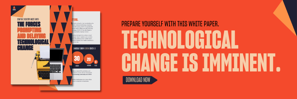 The forces prompting and delaying technological change.