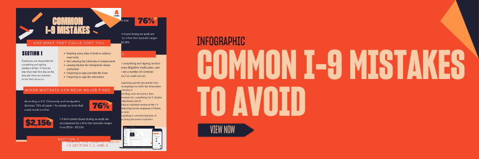 Common I-9 Mistakes | Able