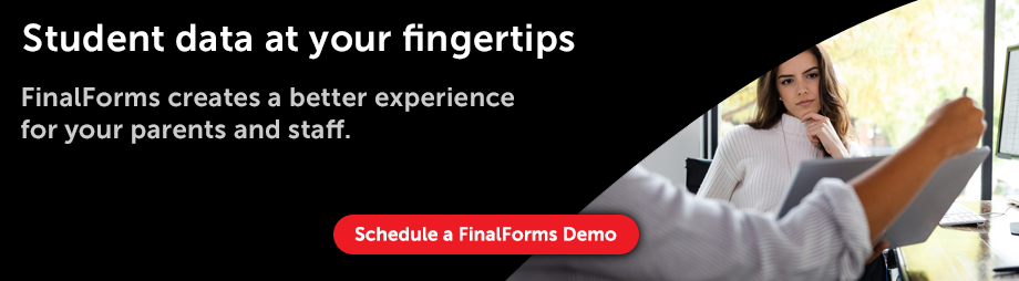 FinalForms Demo - Student Data at Your Fingertips