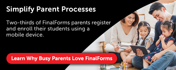 Online School Enrollment Forms