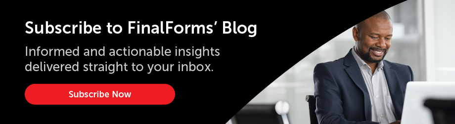 Subscribe to FinalForms Blog