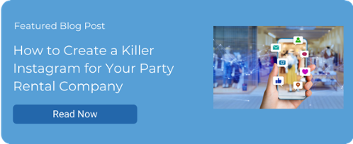 How to Create a Killer Instagram for Your Party Rental Company