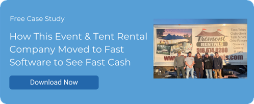 How This Event & Tent Rental Company Moved to Fast Software to See Fast Cash