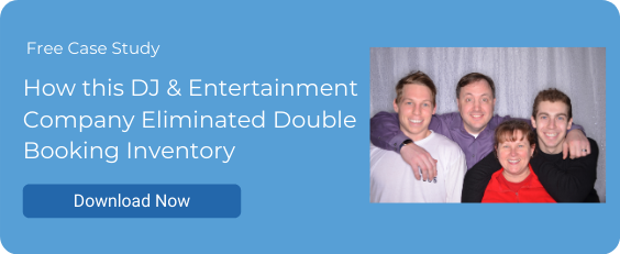 How this DJ & Entertainment Company Eliminated Double Booking Inventory
