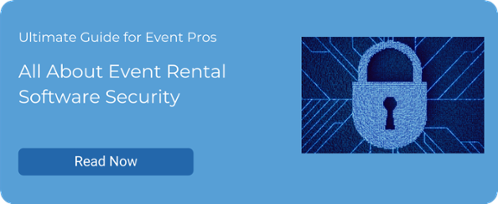 All About Event Rental Software Security