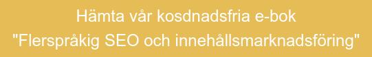 """Hämta vår kosdnadsfria e-bok  """"Flerspråkig SEO och innehållsmarknadsföring"""""""