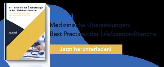 Best Practices für Übersetzungen in der LifeScience-Branche