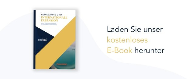 Kostenloses E-Book: Klimaschutz und internationale Expansion (Download)