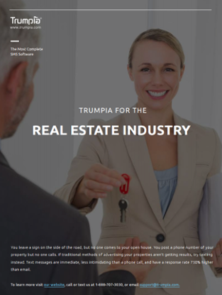 Download The SMS Real Estate Industry Spotlight