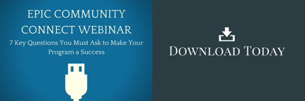View the Epic Community Connect Webinar