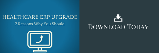 Download the Healthcare ERP Upgrade Guide