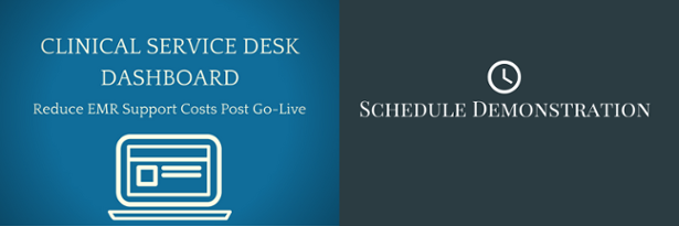 View the Clinical Service Desk Dashboard