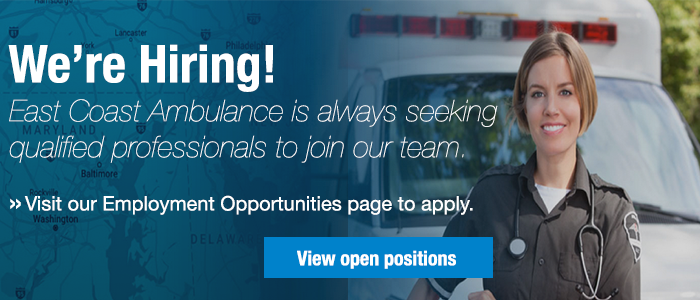 Apply for a position at East Coast Ambulance