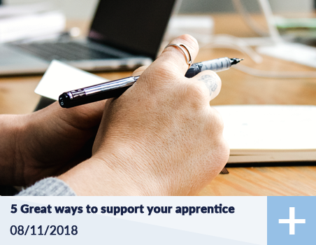 5 Ways to support your apprentice