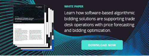 Fluence Trading Platform in CAISO White Paper