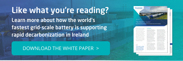 Download Fluence's Need for Speed white paper about the world's fastest grid-scale battery in Ireland.