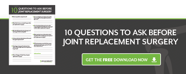 Joint Use Replacement Surgery