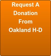 Request A Donation From Oakland H-D
