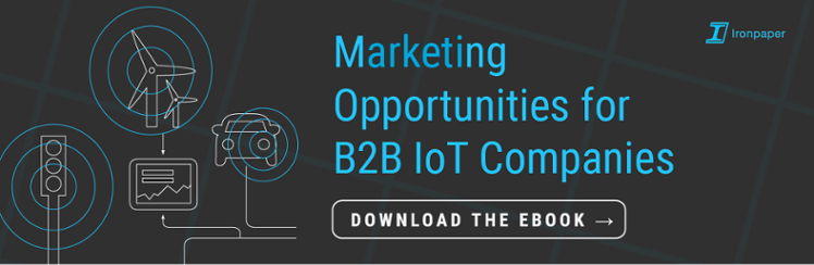 Marketing opportunities for B2B IoT Companies button