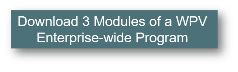 3 Modules of a WPV Enterprise-wide Program