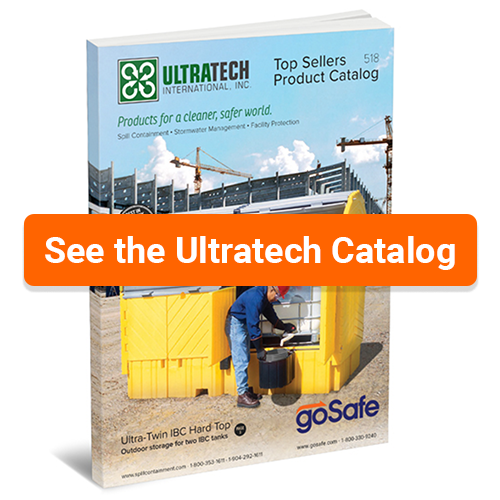 Ultra-Tech Product Catalog. How to clean up a spill