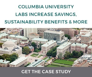 Columbia University Labs Increase Savings, Sustainability Benefits and More