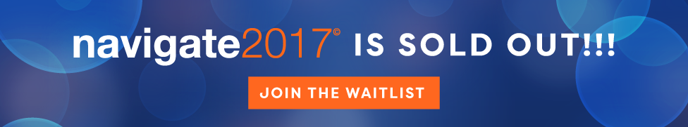 Join the Navigate 2017 waitlist