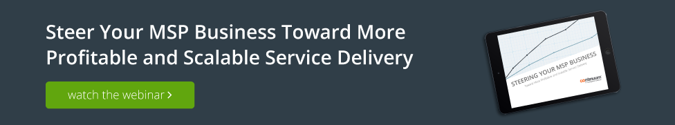 Webinar Steering Your MSP Business service delivery
