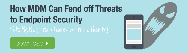 How MDM Can Fend off Threats to Endpoint Security Chart Download