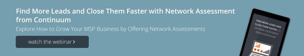 Watch Network Assessment Webinar Blog