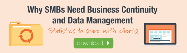 Why SMBs Need Business Continuity and Data Management