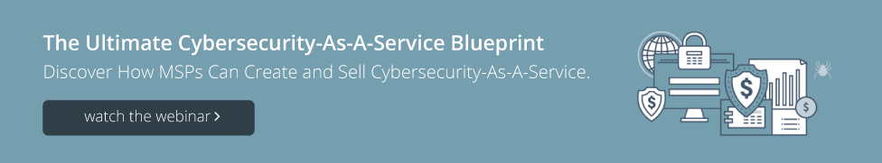 Watch Cybersecurity-As-A-Service Blueprint Webinar
