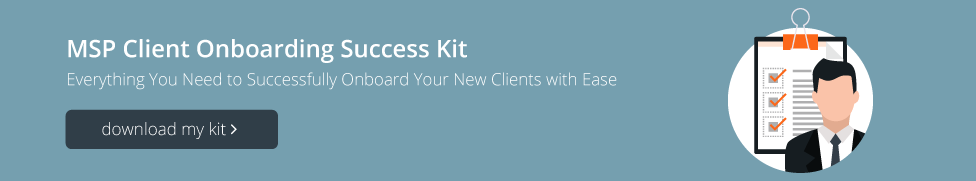 Blog MSP Client Onboarding Success Kit