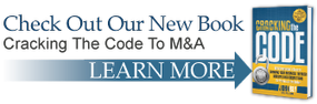 Check Out Our New Book - Cracking The Code To M&A - learn more