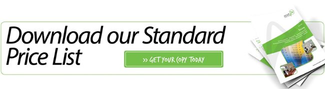 Download our Standard Price List