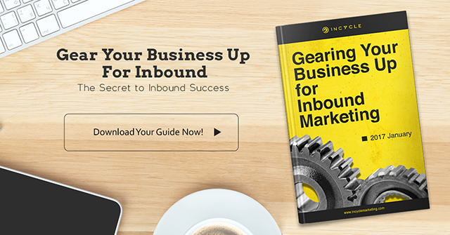 Gearing your business up for inbound marketing