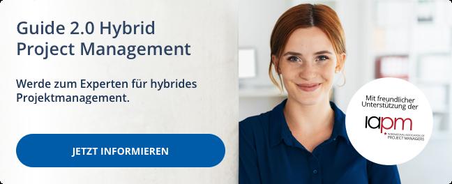 Werde zum IAPM-Experten für hybrides Projektmanagement!