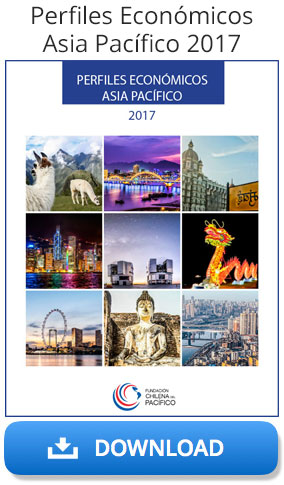 Download the Perfiles Economicos Asia Pacíficio 2017 report from the Chile Pacific Foundation