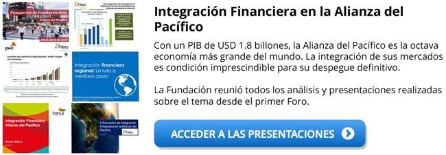 Integración Financiera en la Alianza del Pacífico